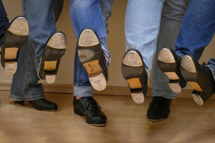 Steppgruppe Schuhe 1 B_
